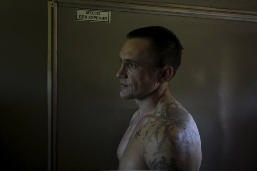 Russian with tattoos, Trans Siberian Railway